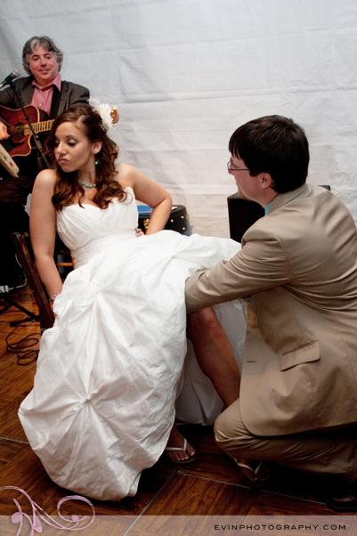 Budget Savvy Bride Wedding Garter Toss