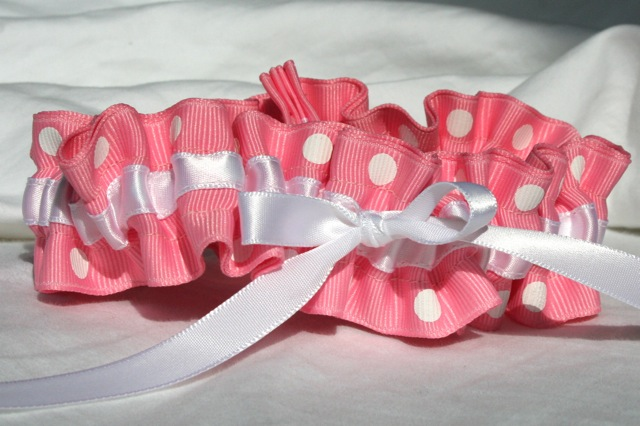 Why Do You Want To Wear A Pink Wedding Garter Giveaway