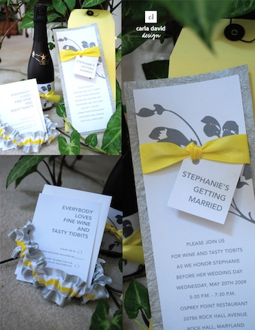 I can 39t get enough of the gray and yellow wedding combination