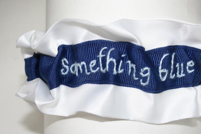 Something Blue Wedding Garters Designed For We TV's