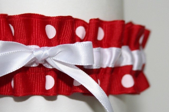 Red And White Wedding Pictures is red and white polka dot