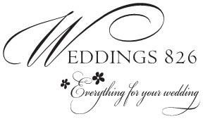 Weddings 826 logo